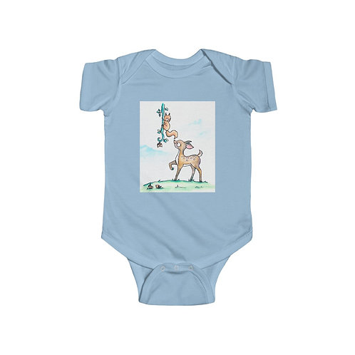 Fawn & Squirrel Infant Jersey Bodysuit