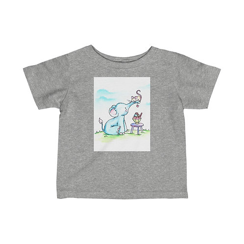 Elephant & Mouse Infant Jersey Tee