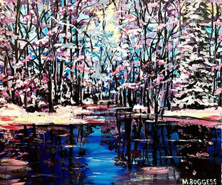 'Reflection of Winter'_20in x 24in