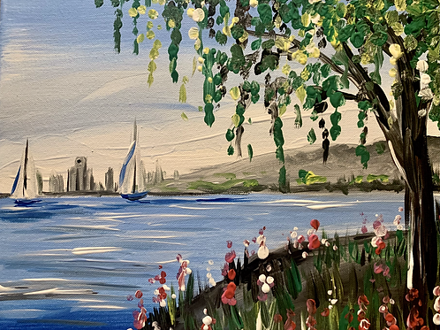 Lake Saint Clair Painting Kit