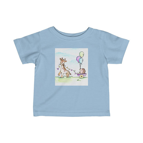 Giraffe & Hedgehog Infant Jersey Tee