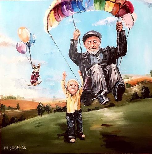 Parachutes & Dreams - Print