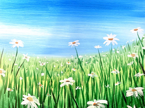 Field of Daisies Painting Kit