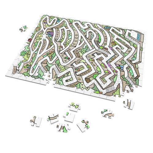 Puzzle Maze-scapes: 252 Puzzle