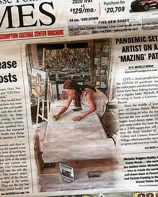 World's Largest Drawn Maze: Michelle Bog