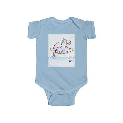 Elephant & Wolf Infant Jersey Bodysuit