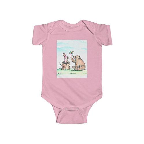 Bunny & Bear Infant Jersey Bodysuit