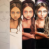 Evolution of a painting process__#artexpo #artexponewyork #boggessart #expressionism