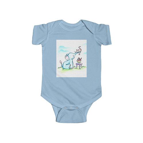 Elephant & Mouse Infant Jersey Bodysuit