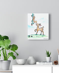 Baby Animal Canvas