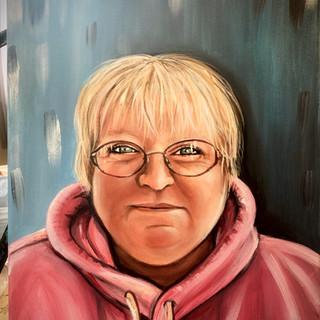 Portrait -  memorial of Janet