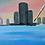 Thumbnail: Detroit Skyline 4th of July Painting Kit