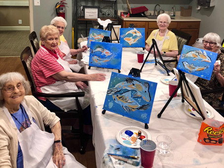Flex Your Art Muscles! How Art Fights Aging