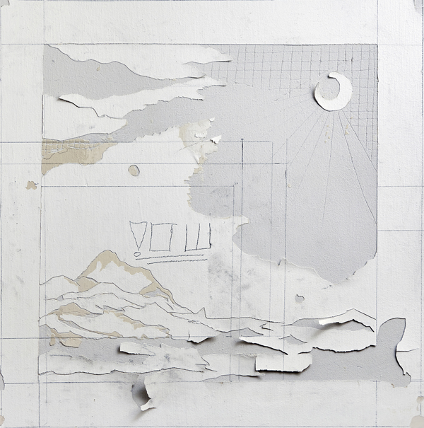 Untitled, 2015, wall engraving, 70X70 cm