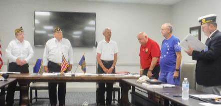 Swearing-in of 2022 Post Officers