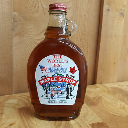 12 oz Flask - Pure Maple Syrup