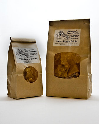 10 oz Maple Peanut Brittle