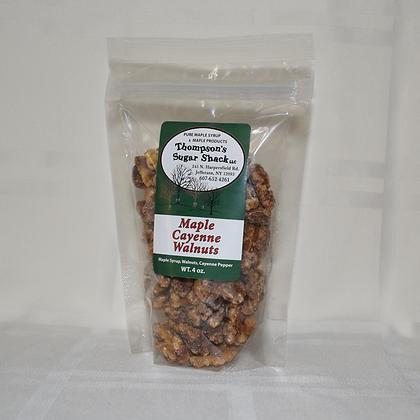 Maple Cayenne Walnuts