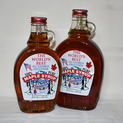 8 oz Flask - Pure Maple Syrup