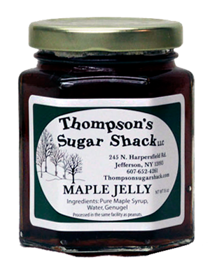 5 oz Maple Jelly