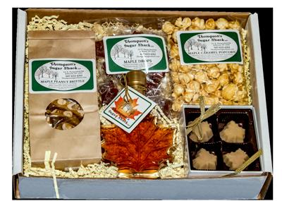 Maple Leaf Gift Box