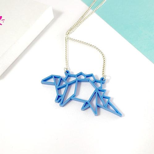 Stegosaurus necklace