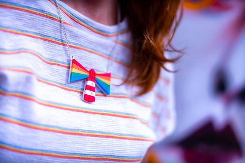 Radiate Rainbows necklace