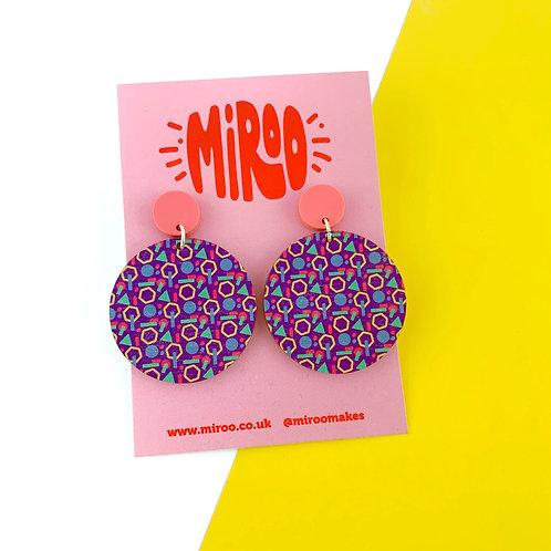 Georgia Circle earrings