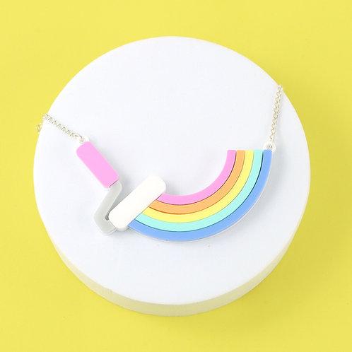 Paint it Rainbow necklace