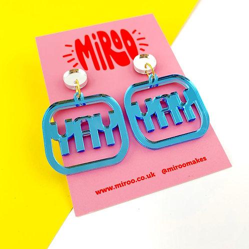 YAY earrings