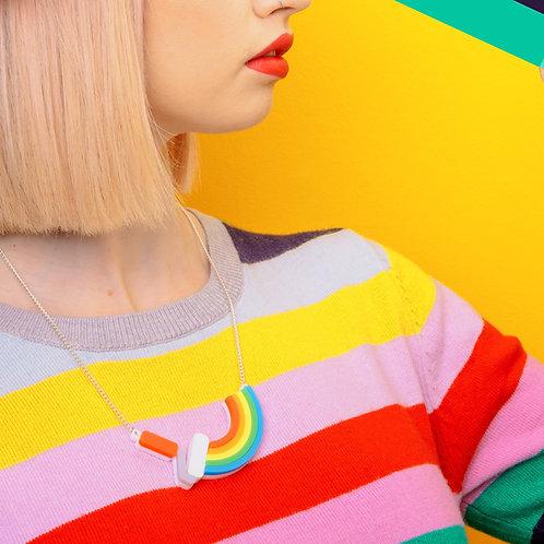 Paint a Rainbow Necklace-large