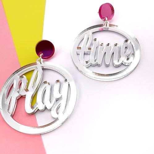 Playtime earrings- silver