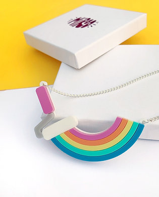 Paint it Rainbow necklace