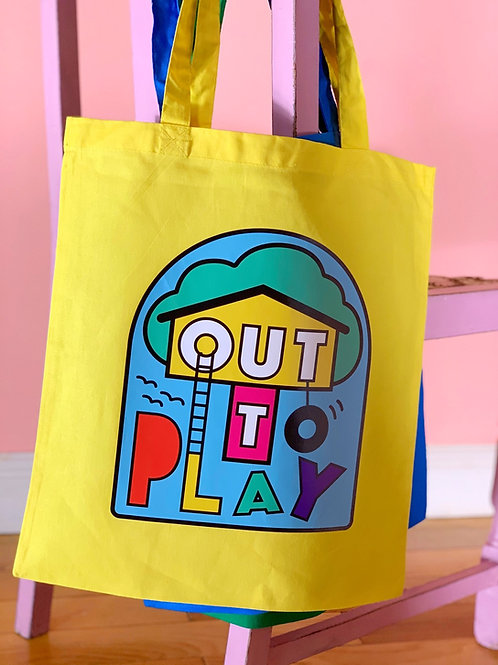 Out to Play Tote Bag