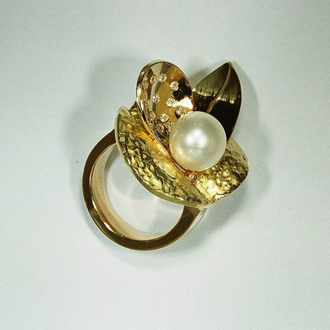 Ring aus Kundengold