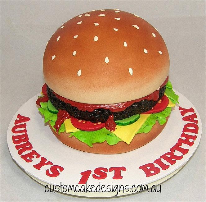 Hamburger Cake Images