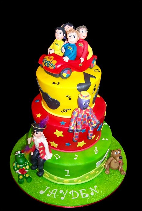 Wiggles Birthday Cake Pictures