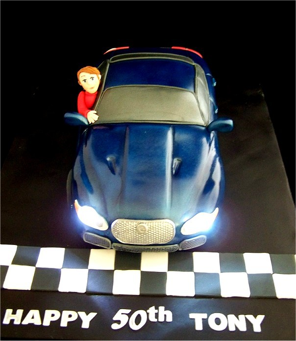 Jaguar Birthday Cake