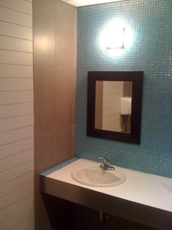Redesigned Washroom