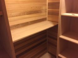 Cedar Closet and Sauna