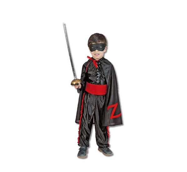 Disfraz héroe enmascarado 3-4 años