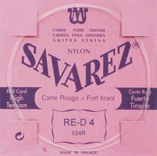 Juego cuerdas Savarez Carta Roja
