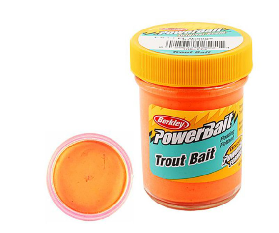 Berkley Pasta Trucha Biodegradable PowerBait Fluo Orange