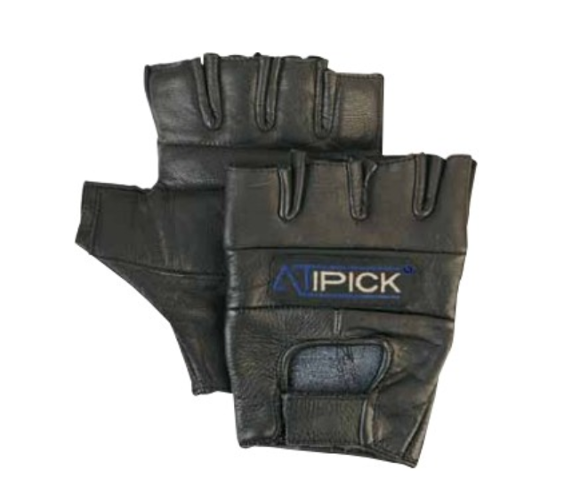 Guantes piel FITNESS