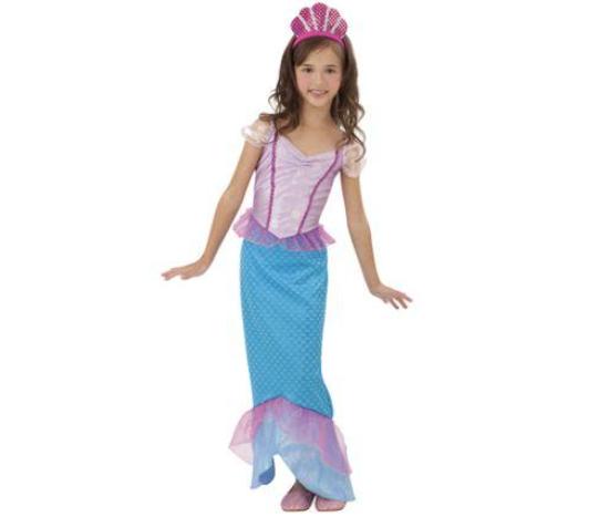 Disfraz Sirenita 7-9 años