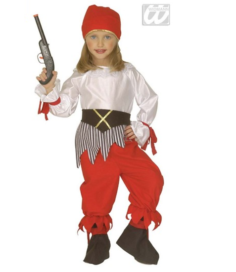 Disfraz Piratessa 4-5 años