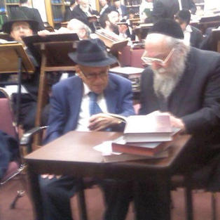 Mr. Kurt Rothchild, Reb Shlomo Miller