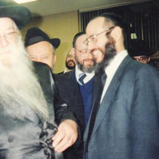 Reb Shalom Schwadron In Toronto