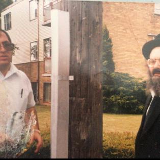 Reb Shlomo Miller Inspecting An Eruv