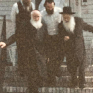Reb Chaim Stein And Reb Nosson Vachtfogel